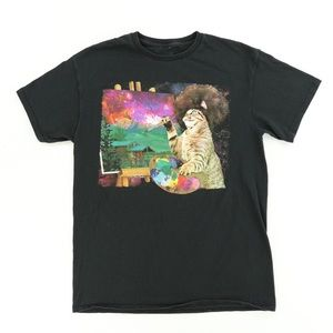 Bob Ross sz Small Spencer's Tee...good condition!